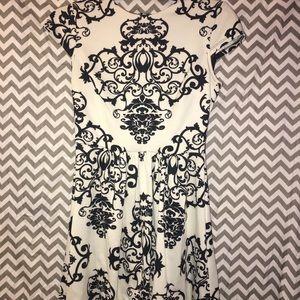 Dresses & Skirts - damask print homecoming dress